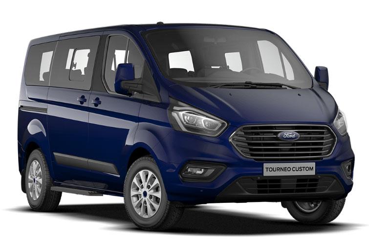 Furgone Ford blu