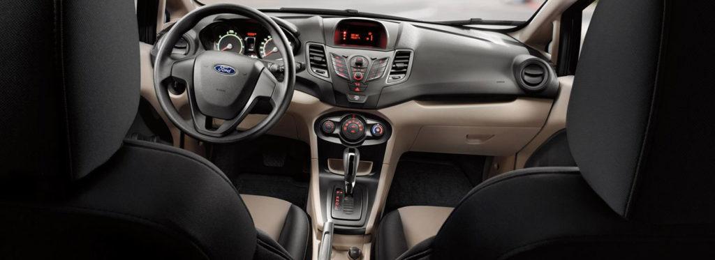 Abitacolo nuova Ford Fiesta